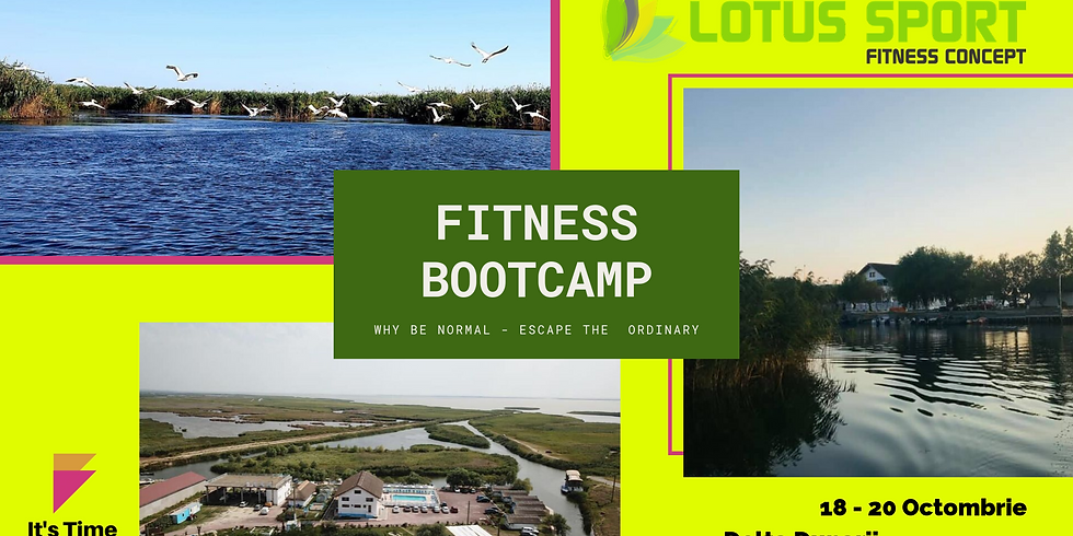 FITNESS BOOTCAMP > Why Be Normal - Escape The Ordinary ?!