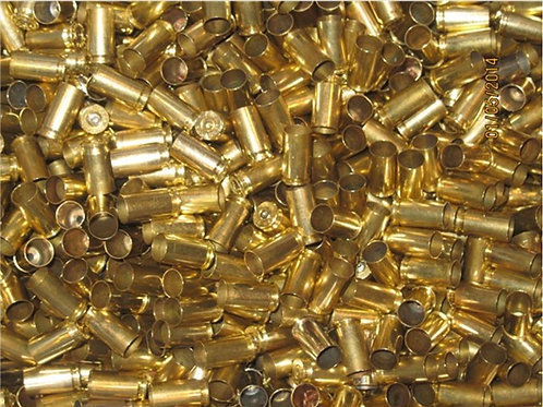 9MM RANGE BRASS X 500 COUNT