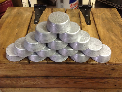 Lead ingots 20 plus bhn