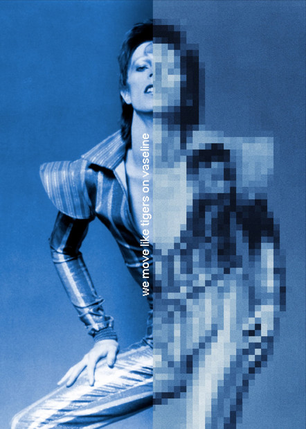 pixelated bowie