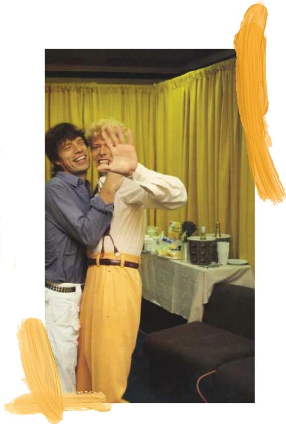 Bowie & Jagger