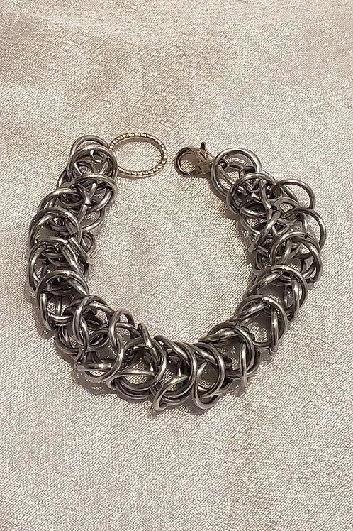 Silver Boxchain Bracelet