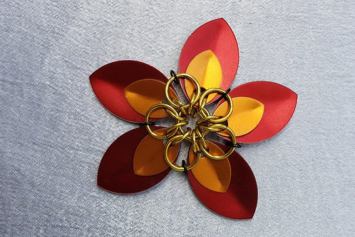scale mail Gold Tiger Lilly