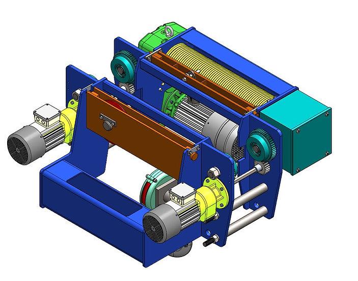 Gantron Hoist Model