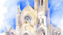 New painting of SLU church