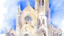 New painting of SLU church