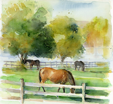 October on Bluejacket Farm - Prints