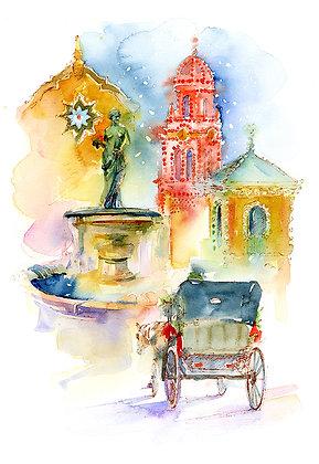 Plaza Winter - Prints