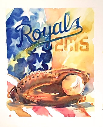 Royals World Series Champions 2015 - Prints