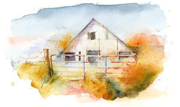 Barn Gate - Prints