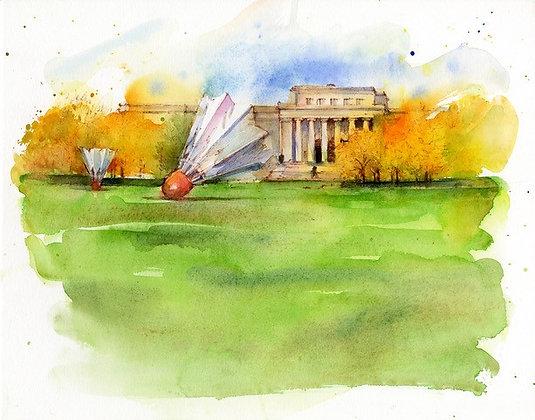 Nelson-Atkins Museum, Autumn