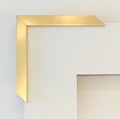 Gold Frame & Mat