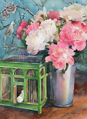 Bird Cage Still Life - Prints