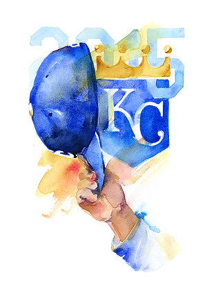 Kansas City Royals Salute - Prints