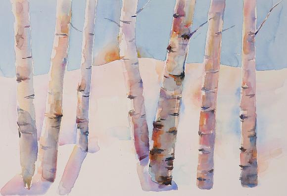 January Dawn - 11x14
