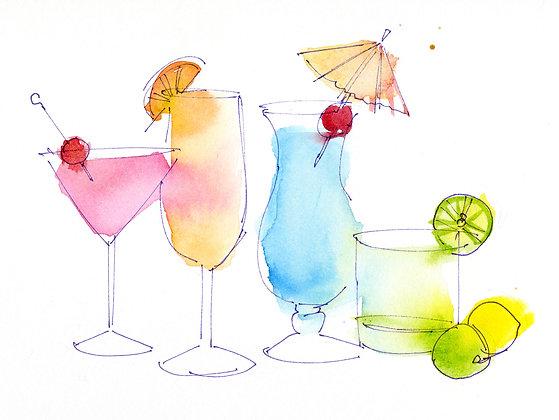 Cocktails - 8x10