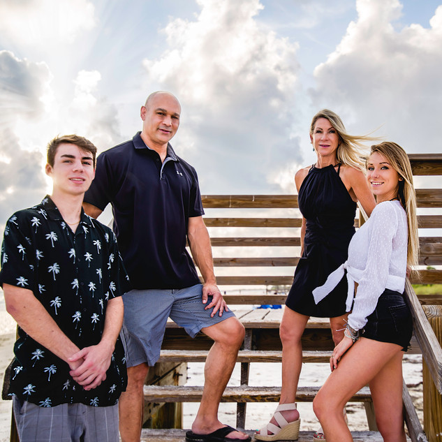 Family with teenage kids - family photog
