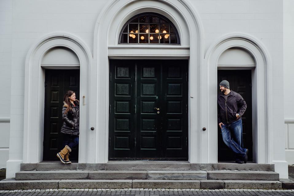 Iceland Reykyavik Engagement Shoot www.t