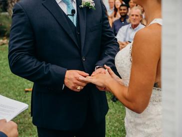 Tampa Bay Watch wedding