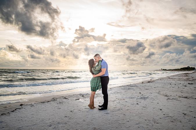 Engagement shoot honeymoon island - www.timelesstampa.com