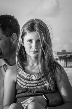 Daughter and dad at the beach photo shoot www.timelesstampa.com