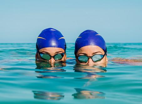 The greatest Swim Twin Team!