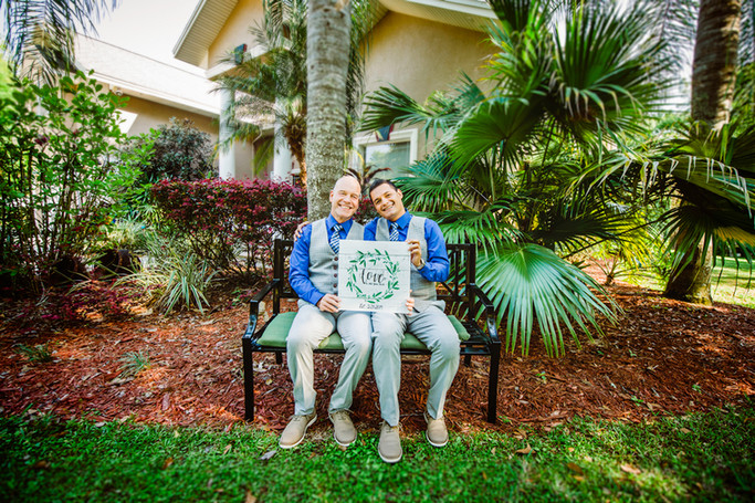 Wedding at Home, why not_ - LGBT wedding