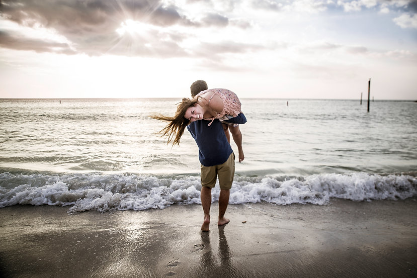 Beach Engagement Tampa www.timelesstampa