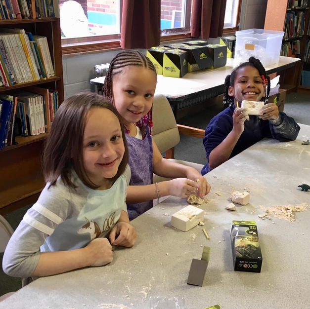 Chiseling Out Dinosaurs