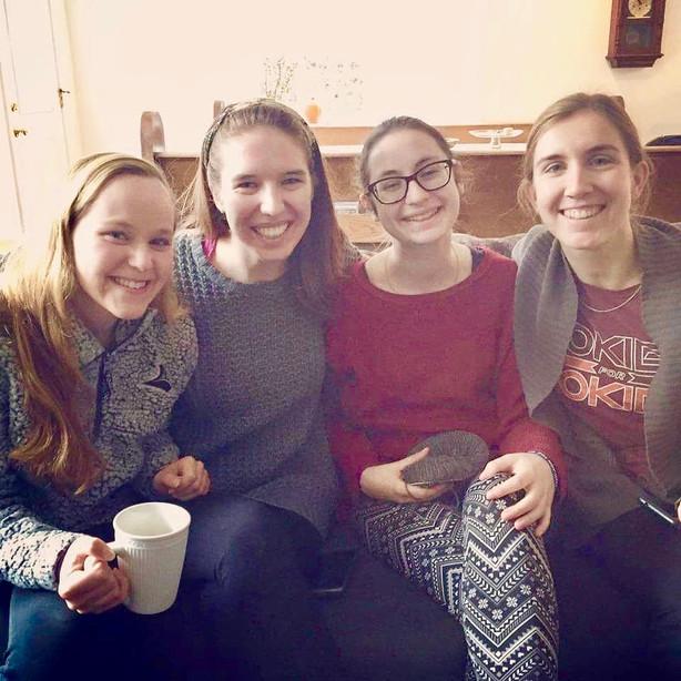 Shannon, Jenny, Etta & Katie