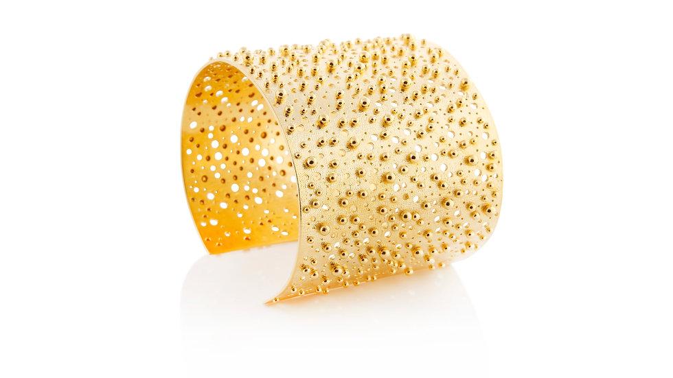 Gold Stingray Cuff