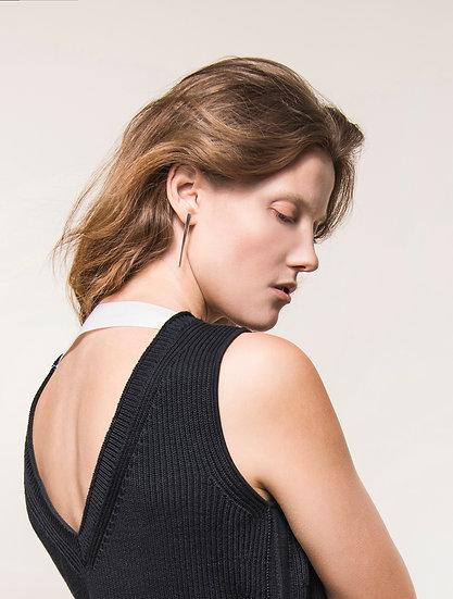 Long Brush Stroke Earrings
