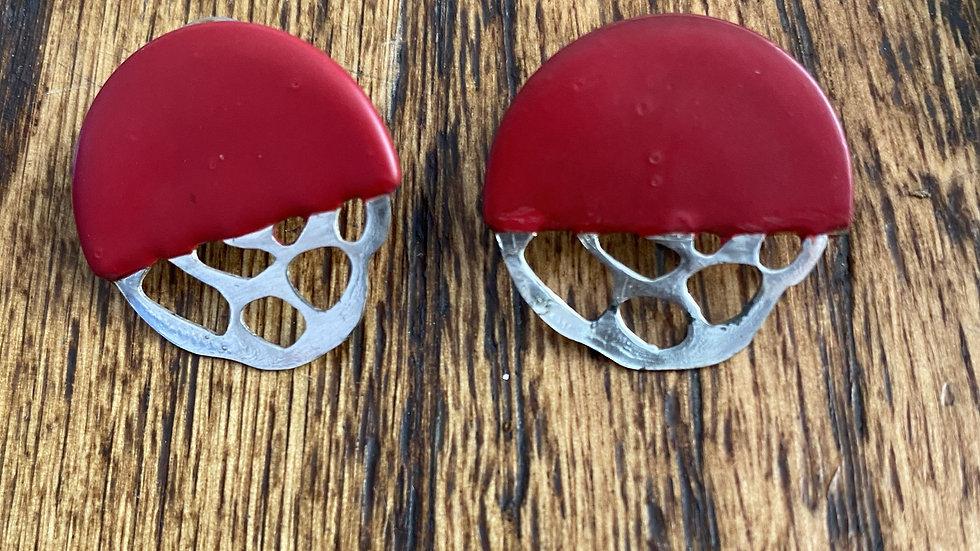 Half Ornament Earrings