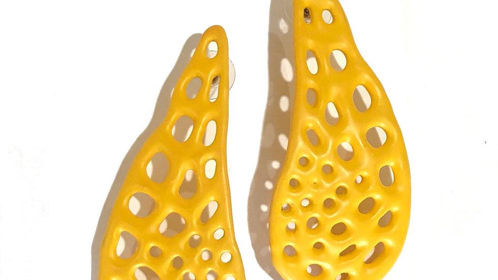 Yellow Drop Earring