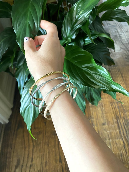 Thin Granulation Bracelet