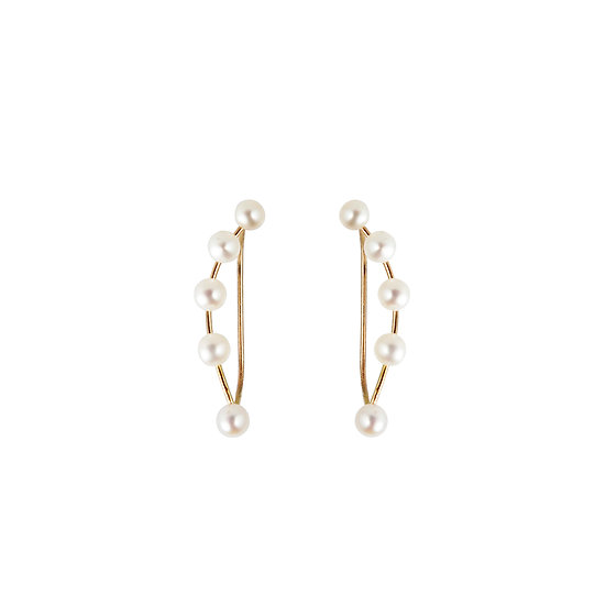 Pearl Climber Earrings