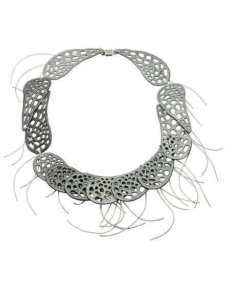 Shade of Grey Necklace