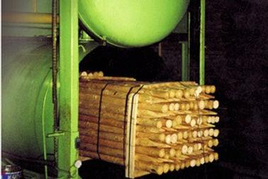 impregnation plant, vacuum impregnation