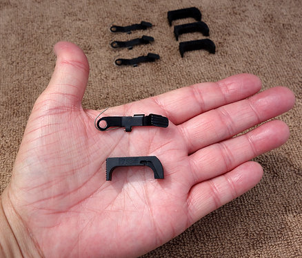 Glock Gen 4 Slide Stop Lever 2919 & Mag Catch Release 7534 for 3-Pin 9mm 40 357