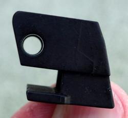 Old 308 Glock Black 9mm 2-Pin Pistol Locking Block