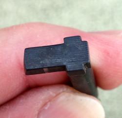 Glock Black 9mm Firing Pin with Single Cut Channel