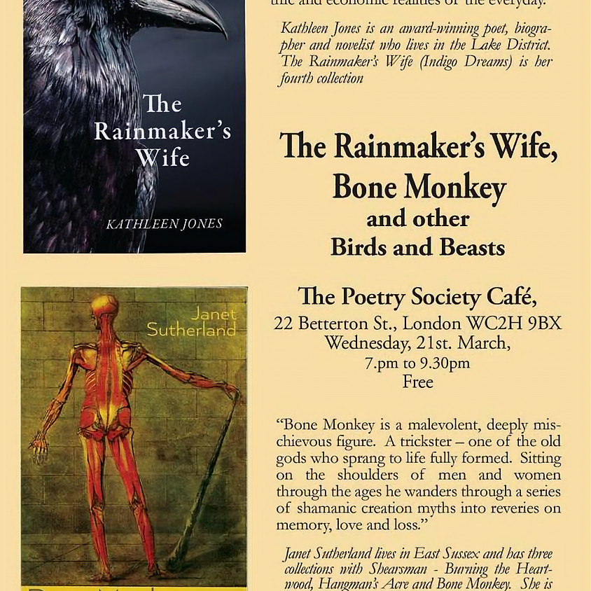 The Rainmaker's Wife, Bone Monkey and Other Birds and Beasts