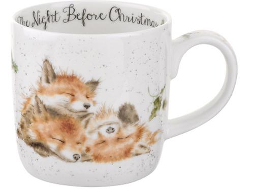 Mug wrendale Noël - Renards