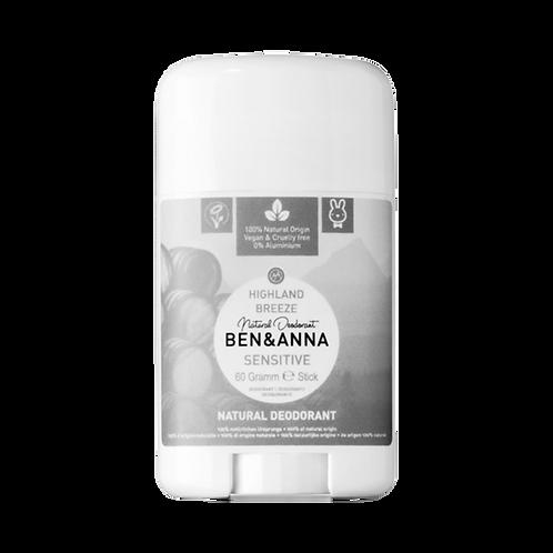 Déodorant stick peaux sensibles - Highland Breeze