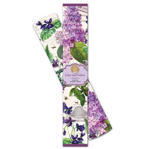Papier Parfumé - Lilas et Violettes
