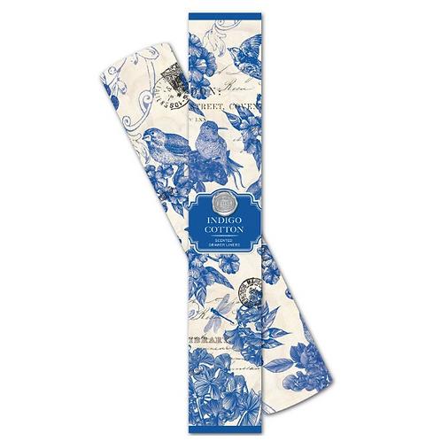 Papier Parfumé - Indigo Cotton