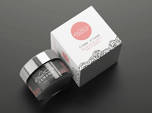 Crème visage - Rose & Lait de chèvre