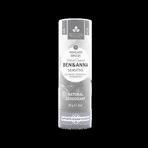 Deodorant peaux sensibles - Highland Breeze