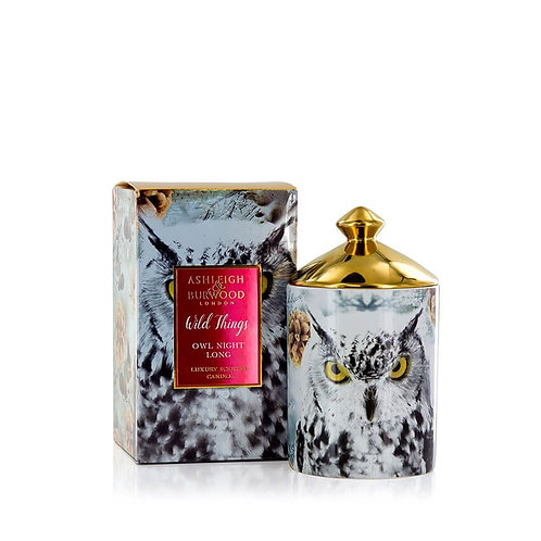 Bougie Wild Things - Chouette