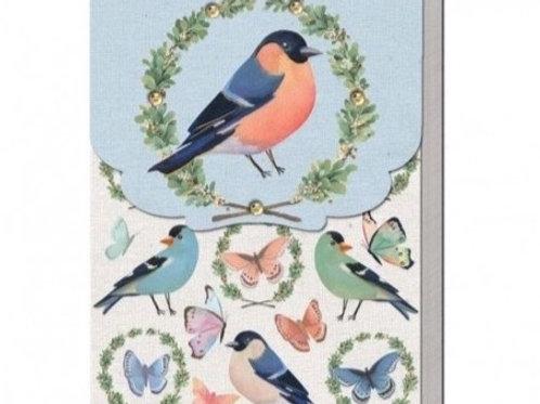 Carnet de note - Birds & Butterflies